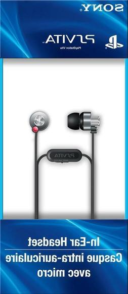 100% OFFICIAL NEW SONY PS VITA IN-EAR HEADSET EARBUD HEADPHO