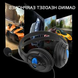 2~20PCS 3.5mm Stereo Wired Gaming Headphone Headset w/ Mic f