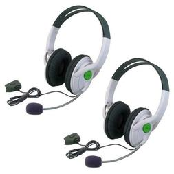 Insten 2 Packs Live Gaming Headset Headphone With Microphone