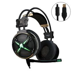 WeIM 2019 Gaming Headset Virgo M60 Black 7.1 Surround Sound
