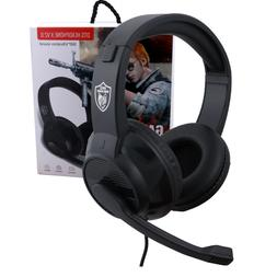 3.5mm Gaming Headset Headphone Stereo Bass Surround With Mic
