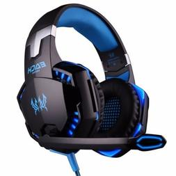 3.5mm Gaming Headset LED Gaming Headphone w/Mic for PS4 Xbox