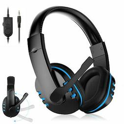 for PS4 Xbox Nintendo Switch PC Stereo 3.5mm Wired Gaming He
