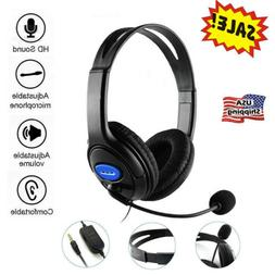 3.5mm Gaming Headset With Microphone Headphones for PC Lapto