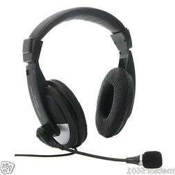 3.5mm Headset Headphones with Microphone Mic for Computer PC