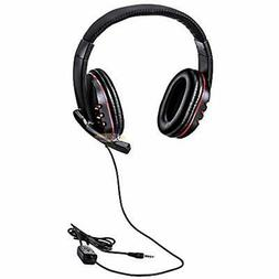 3.5mm Plug Gaming Headset Headphone With Microphone For PS4,