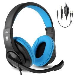 New BlueFire 3.5mm PS4 Gaming Headset Bass Stereo Over-Ear G