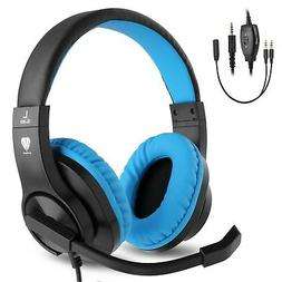 BlueFire 3.5mm PS4 Gaming Headset Bass Stereo Over-Ear Gamin