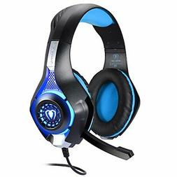 BlueFire 3.5mm PS4 headset PC LED light gaming headphone bas
