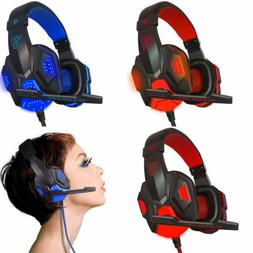 3.5mm Surround Stereo Gaming Headset Headband Headphone with