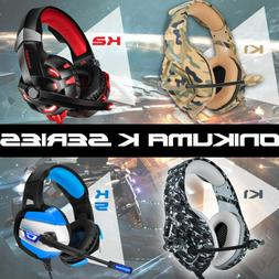 K1/2/5 Gaming Headset for PS4 New Xbox One PC Stereo Surroun