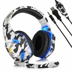 3 5mm wired stereo surround gaming headset