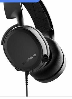 SteelSeries 61503 Arctic 3 Gaming Wired Headset - Black