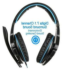 7.1-channel Gaming Headset Computer Game Headphones with Mic