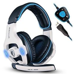 SADES 903 Surround Sound Pro USB PC Stereo Noise-Canceling G