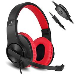 Gaming Headset for Xbox one Ps4 PC DIWUER 3.5mm Stereo Bass