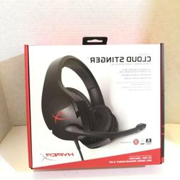 Hyperx - Cloud Stinger Wired Stereo Gaming Headset - Red/bla