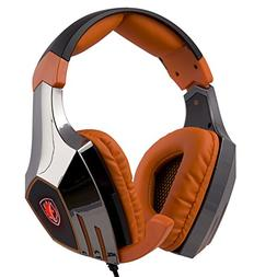 SADES A60 7.1 Surround Stereo PC Pro USB Gaming Headset Head