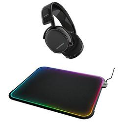 SteelSeries Arctis 7 Headset and QcK Prism Mousepad Combo