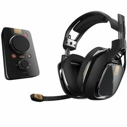a40 tr wired gaming headset system black