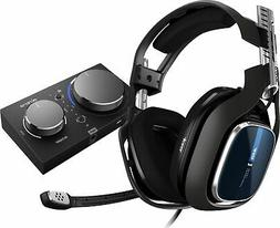 Astro A40 Gen 4 TR Wired Gaming Headset + MixAmp Pro TR for
