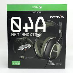 ASTRO - A40TR Gaming Headset + MixAmp M80 - Xbox One - Black