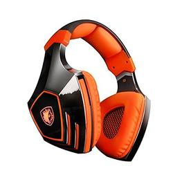Sades A60 7.1 Surround Sound Stereo PC Pro USB Gaming Headse