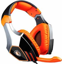 Sades A60 Pro 7.1 PC USB Gaming Headset Over-ear Headphones
