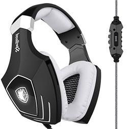 SADES USB Gaming Headset A60 Over-Ear Stereo Computer Headph