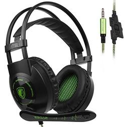 SADES SA801 Wired 3.5mm Gaming Headset for Xbox one, Ps4, Ga