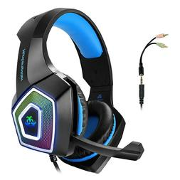 Arkartech V1 Gaming Headset with Mic and 7 Color LED Lights