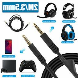 For Astro A10 A40 Gaming Headset Replacement Audio Cable Cor