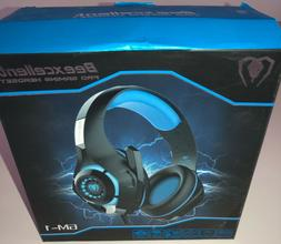 Beexcellent Pro Gaming Headset / GM-1 / Red and Black / NIB