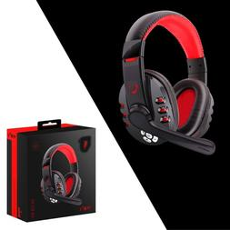 Bluetooth Gaming Headset Headphones w/Microphone For PS4/ PU