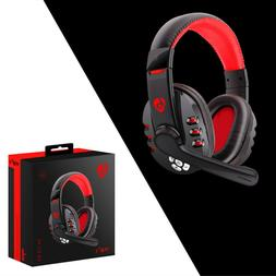 Bluetooth Gaming Headset Headphones With Microphone Mic  PC