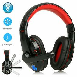 Bluetooth Wireless Gaming Headset for Xbox PC PS4 with Mic L
