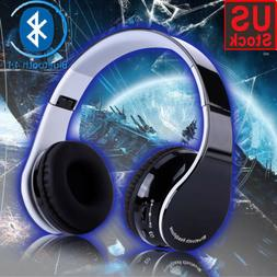 Bluetooth4.1 Wireless Gaming Headset Mic Headphones Stereo S