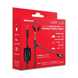 dreamGEAR BoomChat – Detachable Headphone Cable & Boom Mic