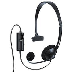 dreamGEAR Broadcaster Wired Headset for the XBOX One with Fl