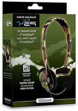 dreamGEAR Broadcaster Wired Headset for the PS4 with Flexibl