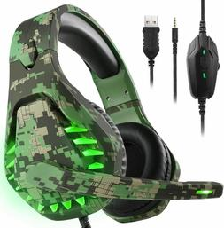 Butfulake Noise Cancelling Xbox one Gaming Headset with 7.1