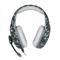 Camouflage Army Gaming Headphones Active Noise Canceling for
