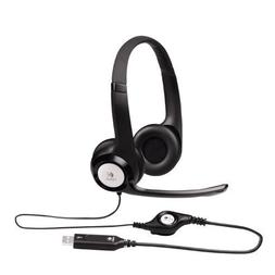 Logitech ClearChat Comfort USB Headset H390 with Mic - Black