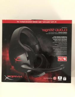 HyperX Cloud Stinger gaming Headset Microphone  Black brand