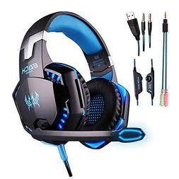 COLOR-V Gaming Headset for Ps4, Pc,Xbox One,Laptop,Switch an