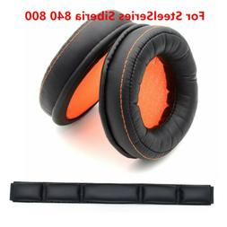 Cushion Ear Pad Bands For SteelSeries Siberia 840 800 Wirele