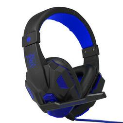 led 3 5mm gaming headset headphones stereo