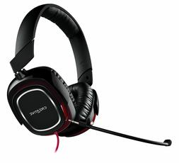 Creative Draco HS880 Extreme Gaming Headset - Black/Red