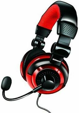 dreamGEAR Universal Elite Amplified, Wired Stereo Gaming Hea