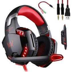 EACH G2000 Stereo Bass Surround Gaming Headset for PS4 New X